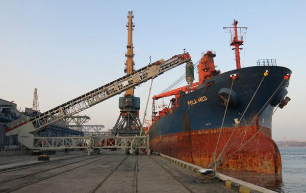 Assessment of the technical possibility of the Ship Loader modernization (productivity increasing)